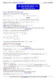 Toán học lớp 10: Hàm số bậc nhất (phần 2) - Thầy Đặng Việt Hùng