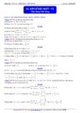 Toán học lớp 10: Hàm số bậc nhất (phần 1) - Thầy Đặng Việt Hùng