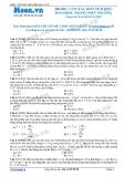 Chuyên đề LTĐH môn Vật lý: Con lắc đơn tich điện dao động trong điện trường