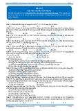 Luyện thi đại học KIT 2 môn Hóa học: Đề số 11