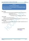 Luyện thi đại học KIT 2 môn Ngữ văn: Đề số 09