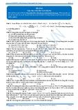 Luyện thi đại học KIT 2 môn Hóa học: Đề số 06