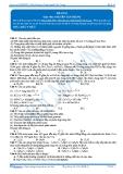 Luyện thi đại học KIT 2 môn Hóa học: Đề số 03