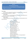 Luyện thi đại học KIT 2 môn Ngữ văn: Đề số 06