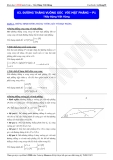 Luyện thi ĐH môn Toán 2015: Đường thẳng vuông góc với mặt phẳng (phần 1) - Thầy Đặng Việt Hùng