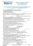 Chuyên đề LTĐH môn Vật lý: Dao động tắt dần và dao động duy trì
