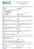 Hóa học lớp 11 - Chuyên đề Nitơ: Muối nitrat-Tính oxi hóa và phản ứng nhiệt phân (Đề 2)