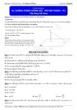 Luyện thi ĐH môn Toán 2015: Đường thẳng vuông góc với mặt phẳng (phần 2) - Thầy Đặng Việt Hùng