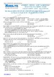 Chuyên đề LTĐH môn Hóa học: Anđehit-Xeton-Axit cacboxylic phản ứng của nhóm COOH