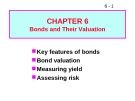 Bài giảng Chapter 6: Bonds and Their Valuation
