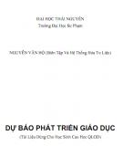 Dự báo Phát triển giáo dục: Phần 2 - Nguyễn Văn Hộ