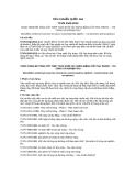 Tiêu chuẩn Quốc gia: TCVN 9342:2012 - Công trình bê tông cốt thép toàn khối xây dựng bằng cốt pha trượt thi công và nghiệm thu