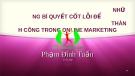 Bài giảng Những bí quyết cốt lỗi để thành công trong online marketing - Phạm Đình Tuấn