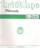 Tạp chí Triết học số 2 (120), Tháng 4 - 2001