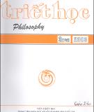 Tạp chí Triết học Số 3 (142), Tháng 3 - 2003