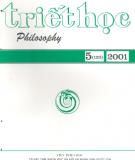 Tạo chí Triết học Số 5 (123), Tháng 8 - 2001