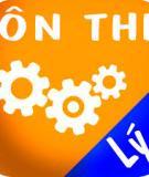 Tóm tắt lý thuyết và phương pháp giải bài tập Vật Lý 12 năm học 2013 - 2014: Tập 1