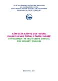 Cẩm nang bảo vệ môi truờng dành cho nhà quản lý doanh nghiệp
