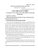 SKKN: Rèn luyện kĩ năng viết chữ trong môn Tập viết ở lớp 2