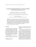 """Tạp chí khoa học: Áp dụng phương pháp Rada đất để xác định """"thoát không"""" dưới bê tông bản mặt đập Cửa Đạt"""