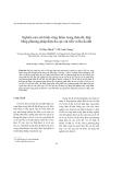 Tạp chí khoa học: Nghiên cứu mô hình vùng thấm trong thân đê, đập bằng phương pháp điện đa cực cải tiến và Ra đa đất