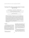 Tạp chí khoa học: Tách dòng cDNA mã hóa cho thụ thể neurokinin-1 từ mô não người Việt Nam