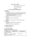 Giáo án Vật lý 11 - Tiết 65: Bài tập về cảm ứng điện từ