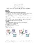 Giáo án Vật lý 11 - Tiết 51: Khung dây có dòng điện đặt trong từ trường