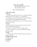 Giáo án Vật lý 11 - Tiết 54: Bài tập lực từ