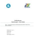 Tài liệu đào tạo Chuyển mạch – Cisco Switch