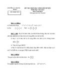 Đề thi học sinh giỏi cấp huyện môn Toán học lớp 8: Đề số 7