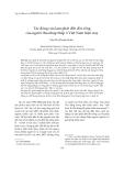 Tạp chí khoa học: Tác động của lạm phát đến đời sống của người thu nhập thấp ở Việt Nam hiện nay