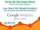 Làm Quen Với Google Analytics