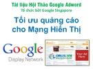 Tối ưu quảng cáo cho mạng hiển thị