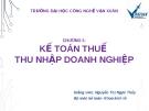 Bài giảng Kế toán thuế: Chương 5 - GV. Nguyễn Ngọc Thủy
