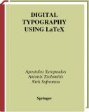 Digital typography using LaTeX