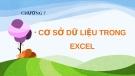 Bài giảng Excel 2010: Chương 7