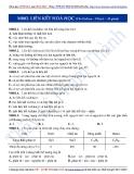 Chuyên đề LTĐH môn Hóa học: Liên kết hóa học (phần 1)