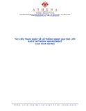 Tài liệu tham khảo về hệ thống mạng LAN cho lớp Basic Network Managenmet