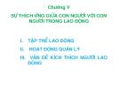 Bài giảng Tâm lý học lao động: Chương 5 - ThS. Hoàng Thế Hải