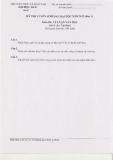Đề thi tuyển sinh sau đại học môn Lý luận văn học 2012 (Đợt 1)