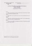 Đề thi tuyển sinh sau đại học môn Triết học năm 2012 (Đợt 1)