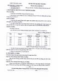 Đề thi thử đại học môn Địa lý - Khối C năm 2014 (Sở GD&ĐT Bắc Ninh)
