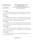Đề thi học sinh giỏi cấp tỉnh môn Lịch sử lớp 12 (2012 - 2013) – Sở GD&ĐT Bắc Ninh