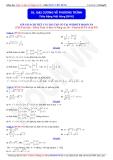 Toán học lớp 10: Đại cương về phương trình - Thầy Đặng Việt Hùng