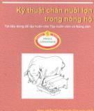 Ebook Kỹ thuật chăn nuôi lợn trong nông hộ: Phần 1 - NXB Nông nghiệp