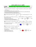 Ôn thi Đại học: Bài toán dòng điện xoay chiều