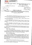Thông tư liên tịch số 26/2014/TTLT-BTC-BCT