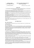 Thông tư Số: 69/2009/TT-BNNPTNT