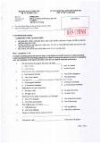 Đề thi chọn học sinh giỏi Quốc gia lớp 12 môn Tiếng Anh